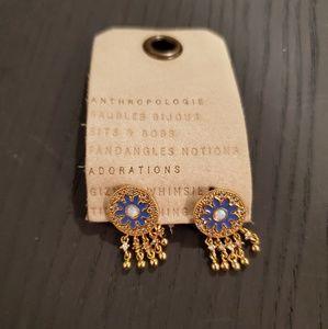 NWT ANTHROPOLOGIE moroccan motif studs earrings